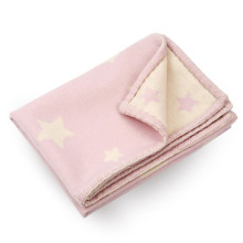 Cashmere Baby Blanket Pink | Gracious Style