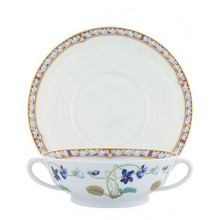 Imperatrice Eugenie Soup Cup/Saucer 24 Cl | Gracious Style