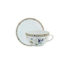 Imperatrice Eugenie Set Of 2 Cappuccino Cup/Saucer 33 Cl | Gracious Style
