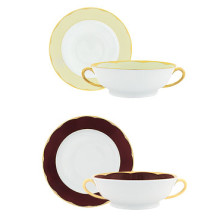 Illusion Anis Soup Cup/Saucer 24 Cl | Gracious Style