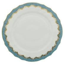 Fish Scale Turquoise Dinnerware | Gracious Style