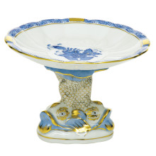 """Ab-Ri Shell With Dolphin Stand 4""""H X 6""""D 