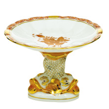 """Aog-Ri Shell With Dolphin Stand 4""""H X 6""""D 