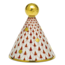 """Shaded Vh Party Hat 2""""L X 2""""W X 2.25""""H 