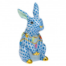 Shaded Vhb Bunny With Christmas Lights 2 in. l X 1.75 in. w X 3.5 in. h | Gracious Style