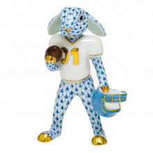 Shaded Vhb Football Bunny 2.5 in. l X 1.25 in. w X 3.75 in. h | Gracious Style