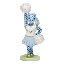 Shaded Vhb Cheerleader Bunny 2.25 in. l X 1.5 in. w X 4.75 in. h | Gracious Style