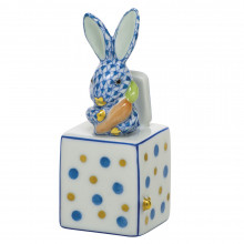"""Shaded Vhb Jack In The Box Bunny 1""""L X 1""""W X 2.75""""H 