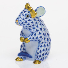Svhb3 Mouse With Bow 2 in. l X 1.5 in. w X 2.5 in. h | Gracious Style