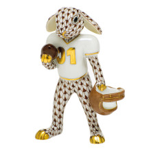 Shaded Vhbr2 Football Bunny 2.5 in. l X 1.25 in. w X 3.75 in. h | Gracious Style