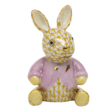 """Shaded Vhj Sweater Bunny 1.5""""L X 1.25""""W X 2.25""""H 