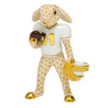 Shaded Vhj Football Bunny 2.5 in. l X 1.25 in. w X 3.75 in. h | Gracious Style