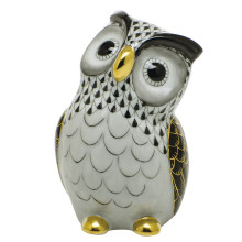 """Shaded Vhnm Owl 2.75""""L X 2.25""""W X 4""""H 