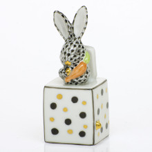 Shaded Vhnm Jack In The Box Bunny 1 in. l X 1 in. w X 2.75 in. h | Gracious Style