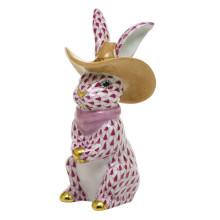 "Shaded Vhp Cowboy Bunny 2""L X 2""W X 3.5""H | Gracious Style"