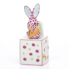 Shaded Vhp Jack In The Box Bunny 1 in. l X 1 in. w X 2.75 in. h | Gracious Style