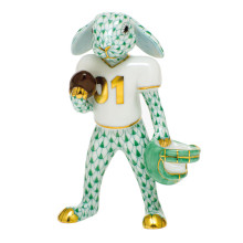 Shaded Vhv Football Bunny 2.5 in. l X 1.25 in. w X 3.75 in. h | Gracious Style