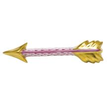 "Fishnet Raspberry (Pink) Arrow 3.5""L X 0.75""W X 0.25""H | Gracious Style"