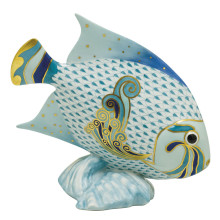"""Vhsp126 Parrot Fish 7.5""""H X 8""""L (Special Order) 