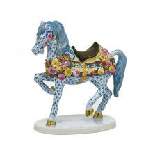 """Vhsp136 Carousel Horse 3.5""""L X 6.75""""W X 6.75""""H (Special Order) 