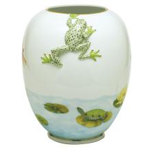 "Vhsp139 Aquatic Garden Vase 11.5""H X 9.5""D (Special Order) | Gracious Style"