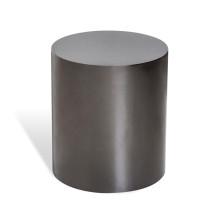 Aubrey Cylinder Side Table - Black Nicke