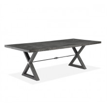 Callum Dining Table - Charcoal Ceruse