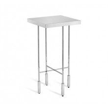 Camdyn Drink Table - Nickel | Gracious Style