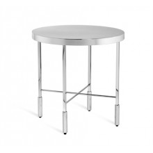 Camdyn Side Table - Nickel | Gracious Style