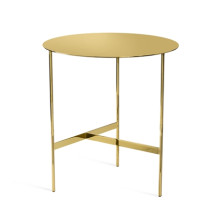 Alessia Grand Side Table - Brass | Gracious Style