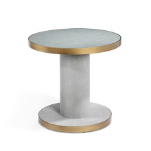 Gabriel Spool Side Table | Gracious Style