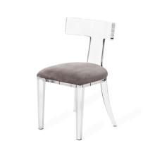 Tristan Acrylic Klismos Chair