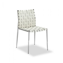 Logan Dining Chair White | Gracious Style