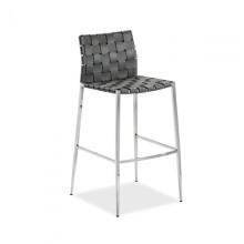 Logan Bar Stool Grey | Gracious Style