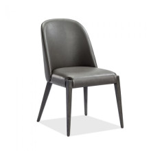 Alecia Dining Chair Grey | Gracious Style