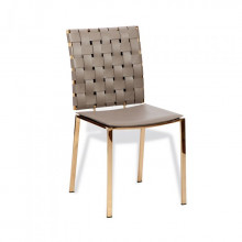 Bliss Woven Chair Taupe | Gracious Style