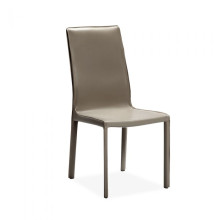 Jada High Back Dining Chair Taupe | Gracious Style