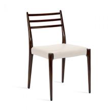 Beckham Side Chair Walnut/Cream | Gracious Style