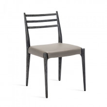 Beckham Side Chair Charcoal/Grey | Gracious Style