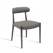 Adeline Dining Chair Charcoal | Gracious Style
