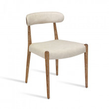 Adeline Dining Chair Whitewash | Gracious Style