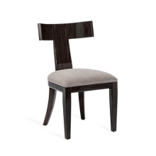 Marlow Klismos Chair - Smoked Oak | Gracious Style