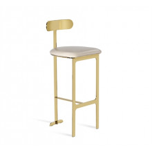 Hollis Bar Stool - Cream | Gracious Style