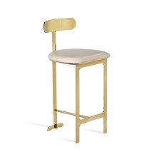Hollis Counter Stool - Cream | Gracious Style