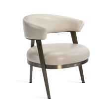 Adele Lounge Chair - Cream | Gracious Style