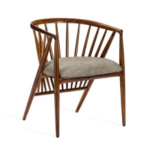 Lilou Dining Chair - Taupe | Gracious Style