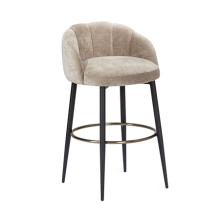 Mila Bar Stool - Beige Latte | Gracious Style