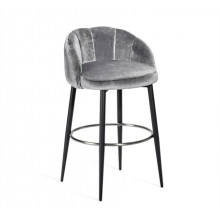 Mila Bar Stool - Graphite | Gracious Style