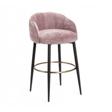 Mila Bar Stool - Violet-Rose | Gracious Style
