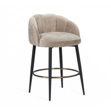 Mila Counter Stool - Beige Latte | Gracious Style
